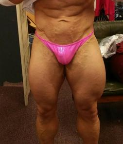NEW Mystique Competition Posing Body Building Trunks - Scrun