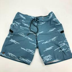 Quicksilver Waterman Collection Board Shorts Size 34