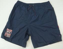 Rare Vintage TOMMY JEANS TH Hilfiger Spell Out Swim Trunks B