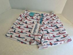Chubbies swim trunks Shorts Med. White With Skis And A Boot,