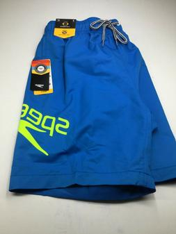 """Speedo Swim Trunks With lining Outseam 18"""" Size Small NWT"""